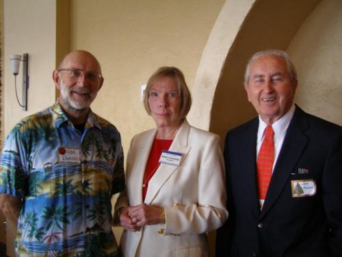 holiday-2007-5.3--Jim Baross, Nancy Acevedo, Joe Flynn