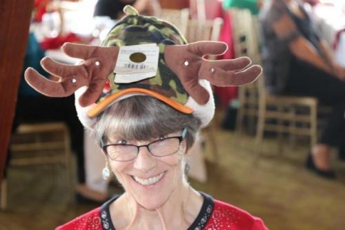 Karen's Holiday Hat